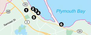 6 Free Sites in 4 Miles