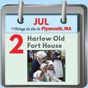 Plymouth MA Things to Do: Pilgrim Breakfast at Harlow Old Fort House