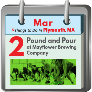 Plymouth MA Things to Do: Pound 'n Pour at Mayflower…Brewery, that is!